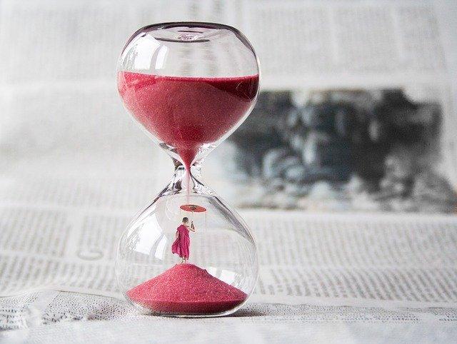 czas sklepsydra